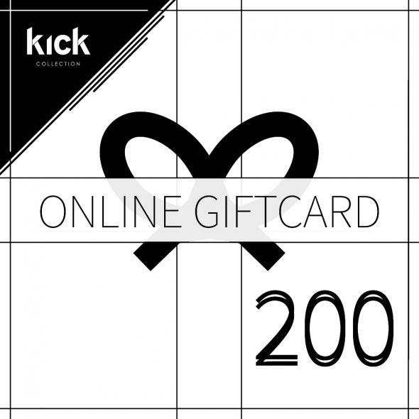 KICK online gift card - 200