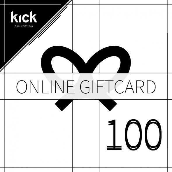 KICK online gift card - 100