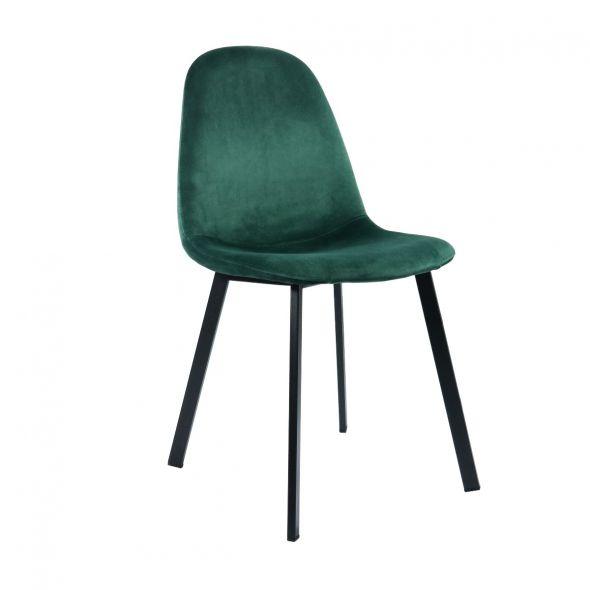 Kick Pat Dining Chair - Dark Green