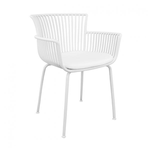 Kick Otis Garden Chair - White