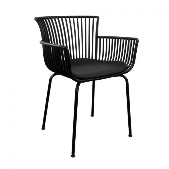 Kick Otis Garden Chair - Black