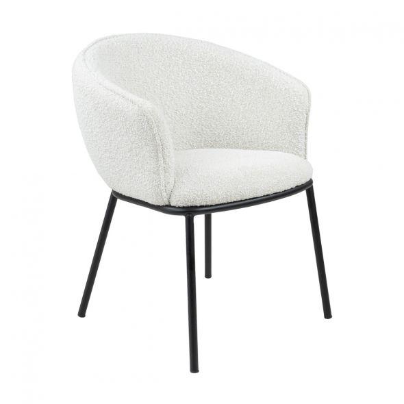 Kick Duke Dining Chair - White