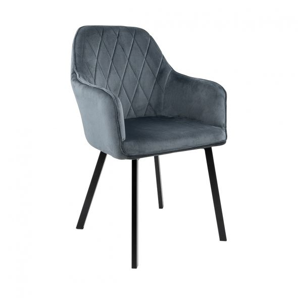KICK Jane Dining Chair - Dark Grey