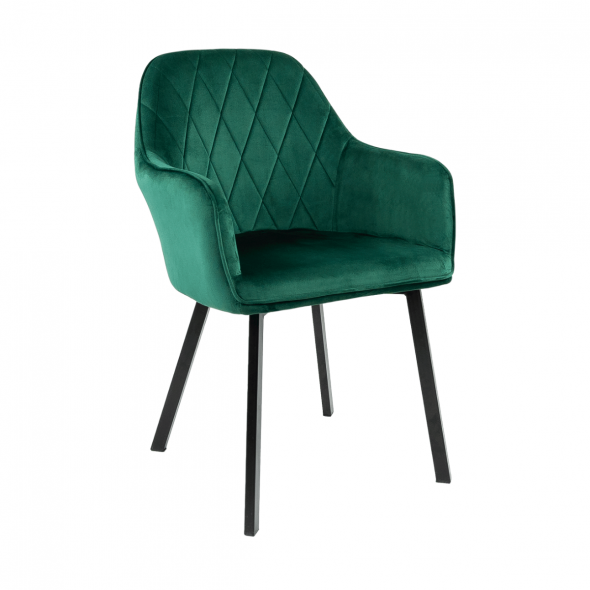 KICK Jane Dining Chair - Dark Green