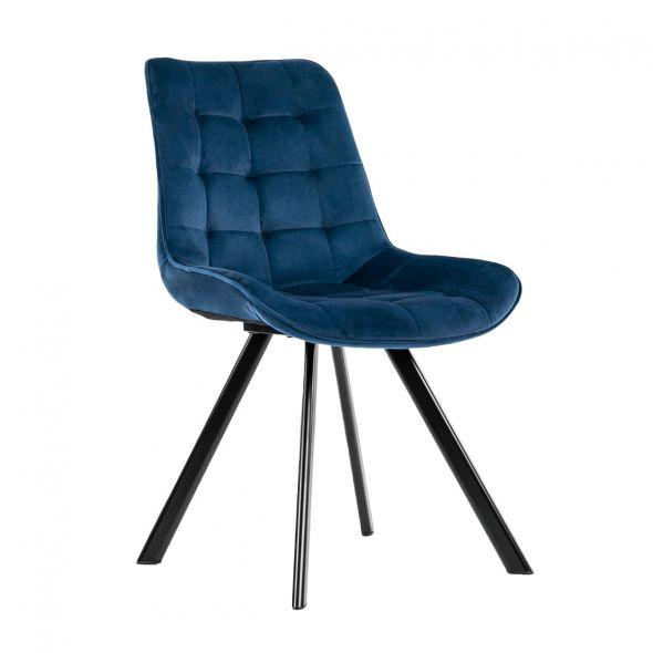 Kick Jesse Dining Chair - Dark Blue