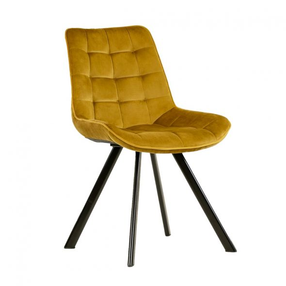 Kick Jesse Dining Chair - Gold
