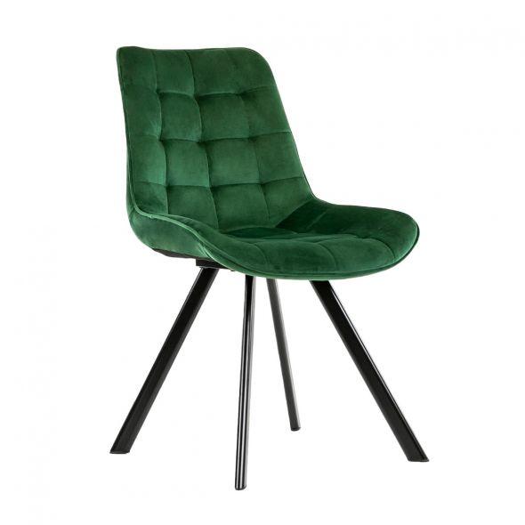 Kick Jesse Dining Chair - Dark Green