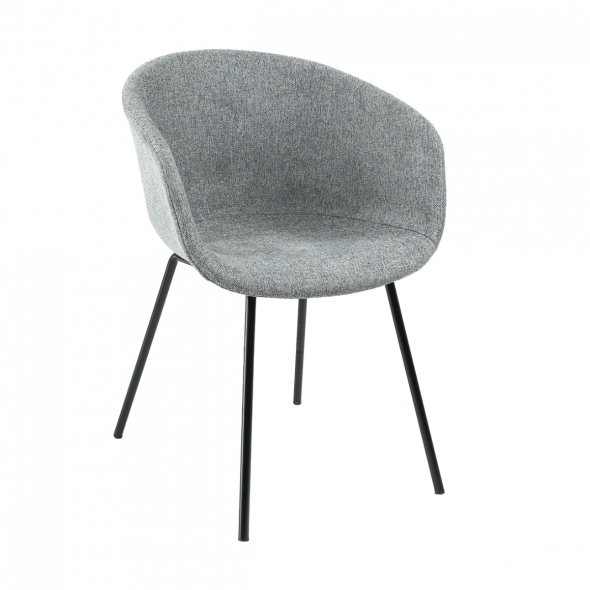 KICK Kate Dining Chair - Dark Grey