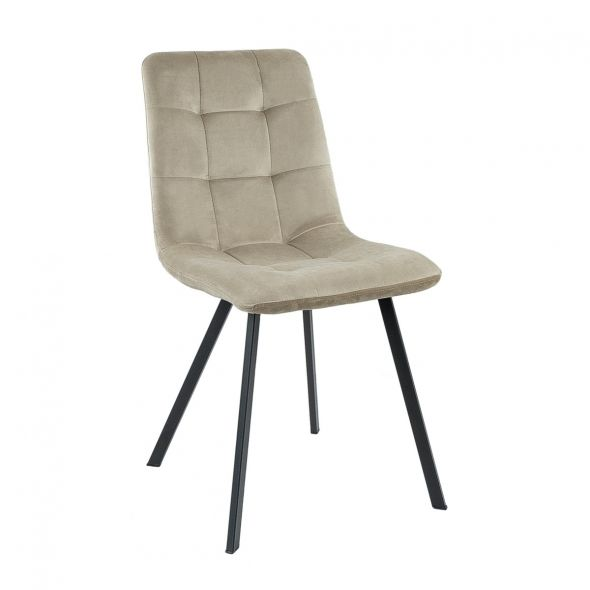 KICK MONZ Dining Chair  - Champagne