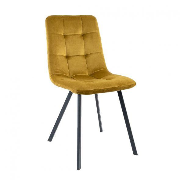 KICK MONZ Dining Chair  - Gold