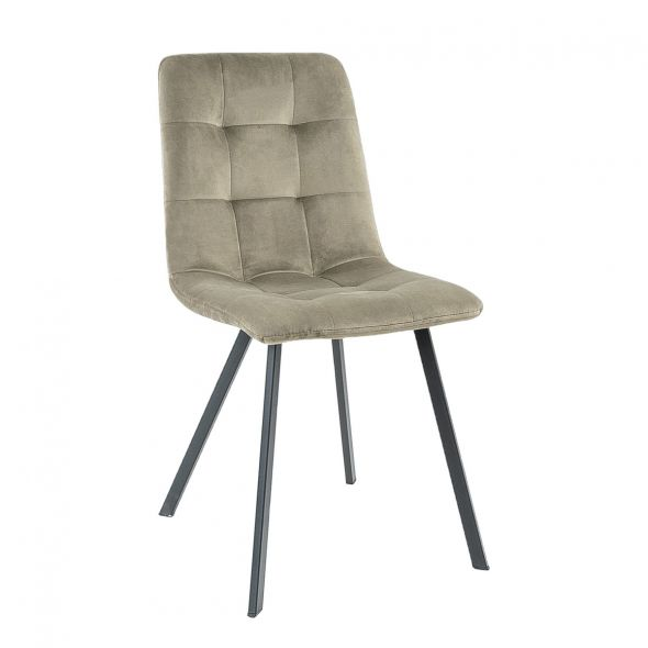 KICK MONZ Dining Chair  - Taupe