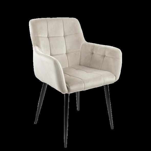 Kick Rev Dining Chair - Velvet Champagne