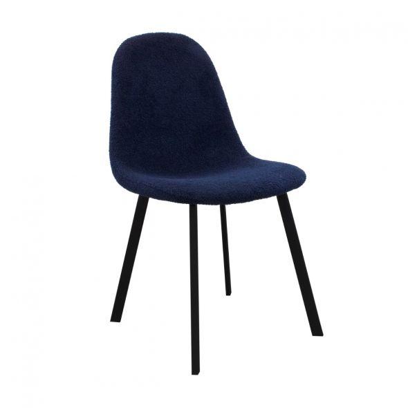 Kick Ted Dining Chair - Dark Blue
