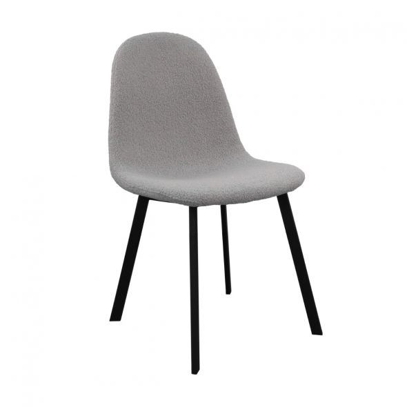 Kick Ted Dining Chair - Grey