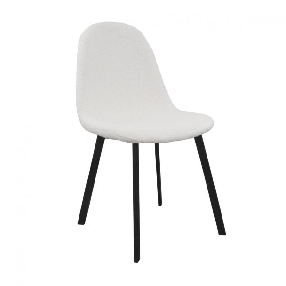 Kick Ted Dining Chair - White