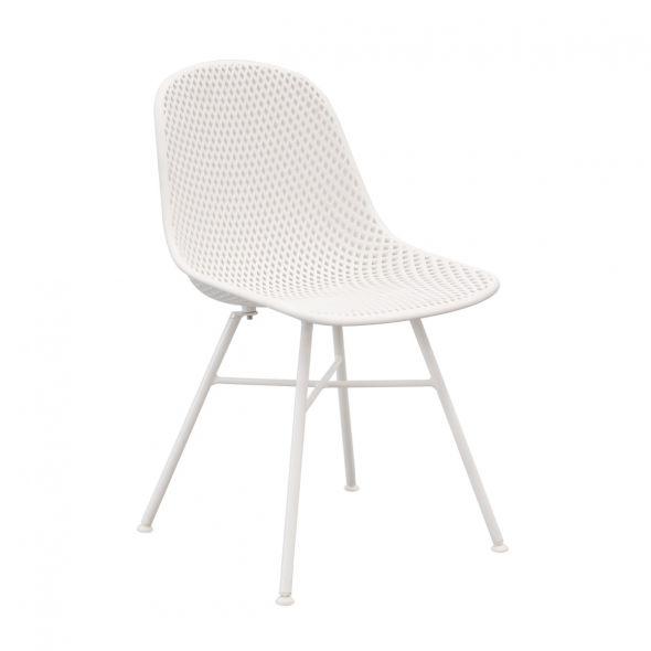 Kick Sol Garden Chair - White