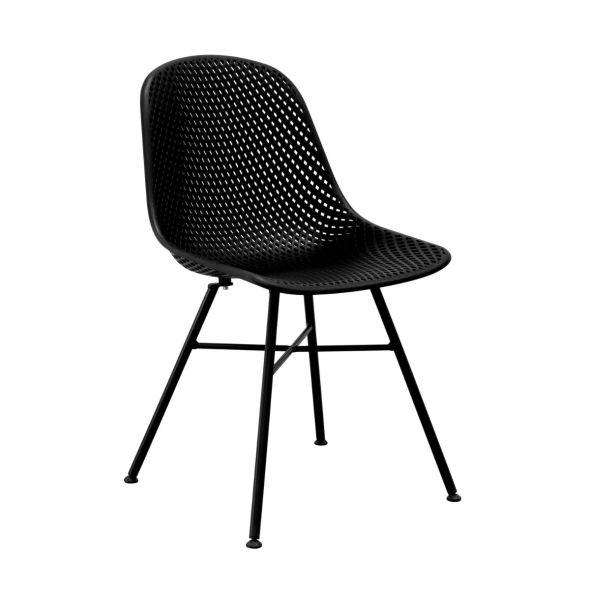 Kick Sol Garden Chair - Black